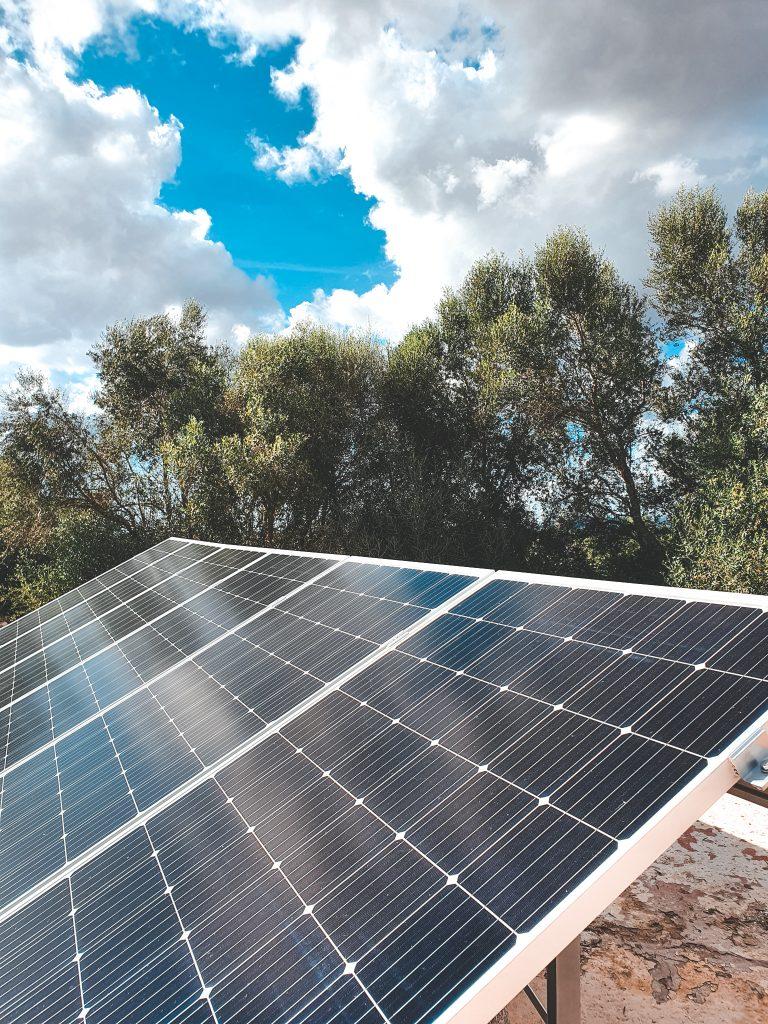 Duurzame energie bij ons huis op mallorca